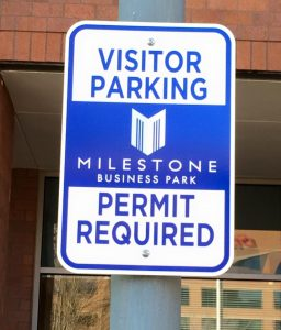 Wayfinding Signs custom parking outdoor metal traffic sign safety wayfinding 256x300