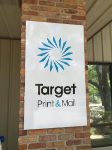 storefront metal sign panel